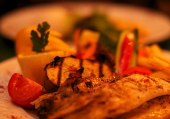 Harem Restaurant : Fischgericht