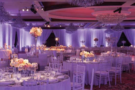 Grand Ballroom Wedding Reception