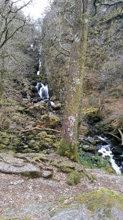 Borrowdale, UK: Breathtaking falls