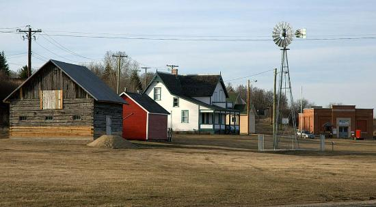 Minnedosa, Канада: Heritage Village features a whole neighbourhood of pioneer life on the prairies.  Photo: Patrick