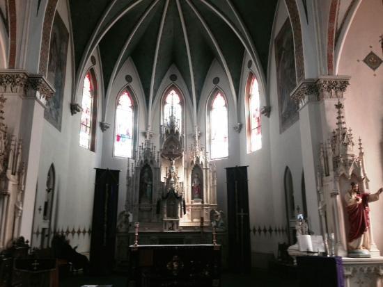 St. Mary's Catholic Church : St. Mary's Inside
