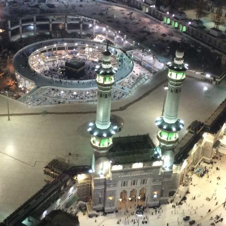 Raffles Makkah Palace: Vue magnifique sur la Kaaba.