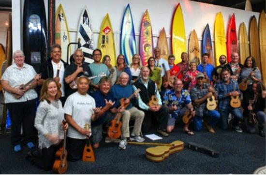 San Clemente, CA: Ukulele Monthly Lessons at SHACC (every 3rd Tuesday of the month 7-9pm)