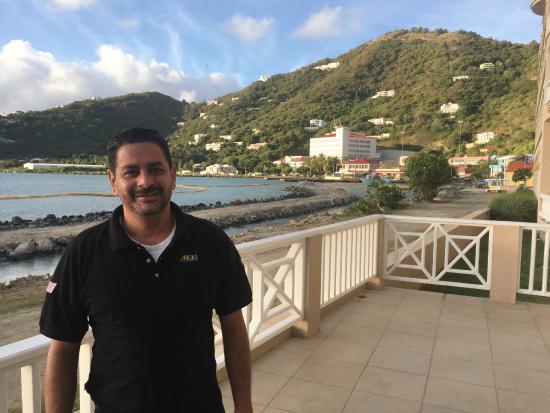 Maria's by the Sea: No restaurante do hotel