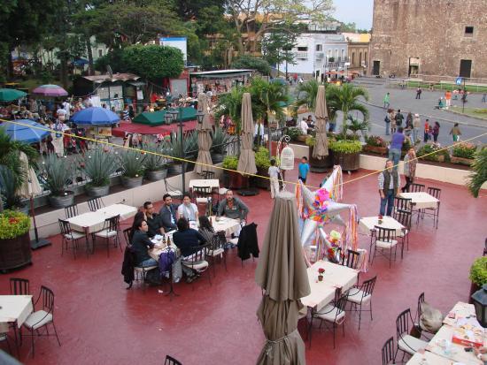 Terraza fotograf a de restaurante casa hidalgo for Restaurante casa america terraza