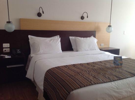Dann Norte Hotel: Cama confortable