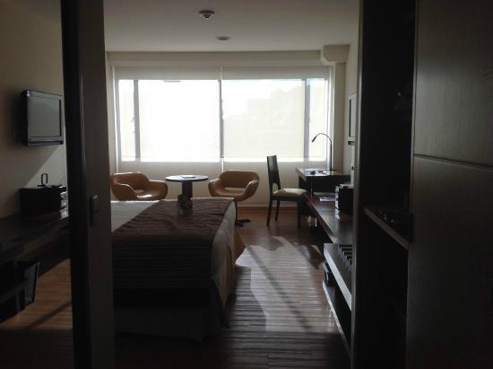 Dann Norte Hotel : Habitación amplia