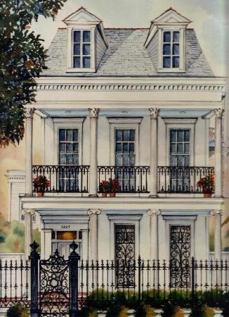 Rathbone Mansions: Sketch Exterior