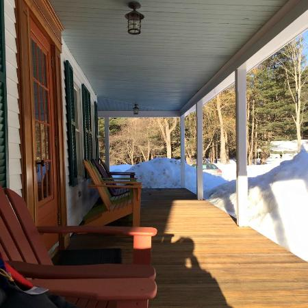 Wevertown, NY: The porch