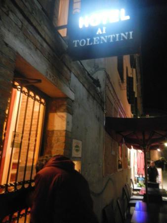 Hotel ai Tolentini: Excelente localização...