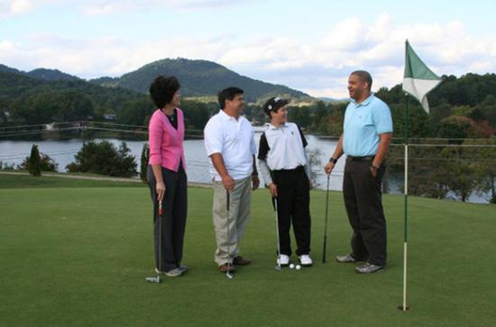 Lake Junaluska Conference and Retreat Center: Play a round of golf at the Lake Junaluska Golf Course, located on the property.
