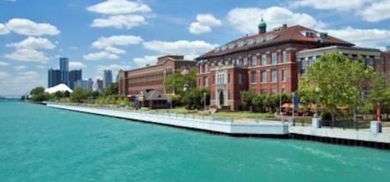 Roberts Riverwalk Hotel Detroit: Riverview