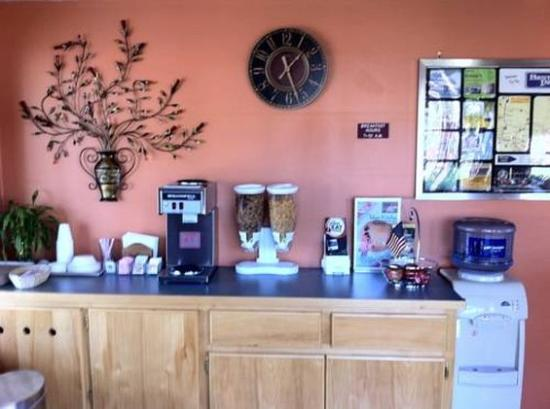 Bestway Inn Grants Pass: Breakfast Area