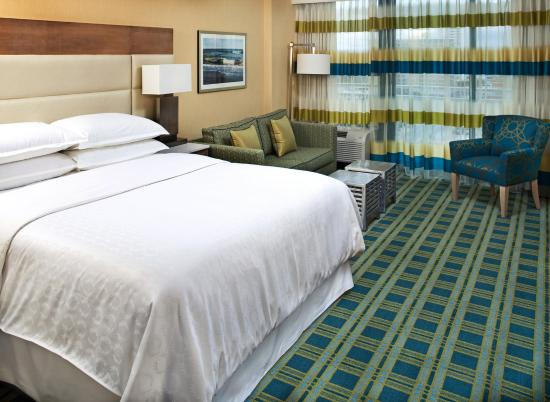 Sheraton Oceanfront Hotel: One King Bed