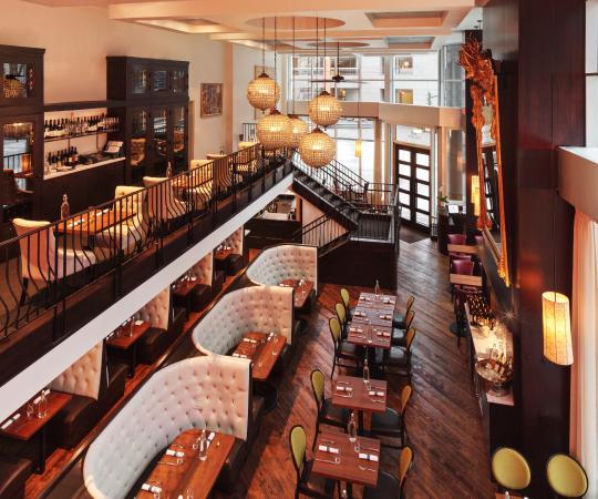 Sheraton Seattle Hotel: Restaurant