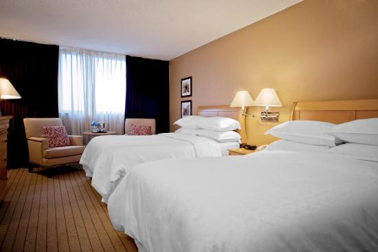 Sheraton Fort Lauderdale Airport & Cruise Port: Club Double Bed Guest Room