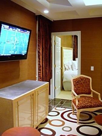 The Rocky River Inn: Livingroomtwobedroomsuite