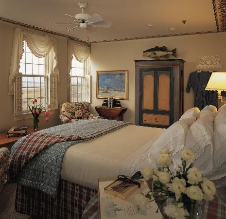 The Wauwinet: Bedroom