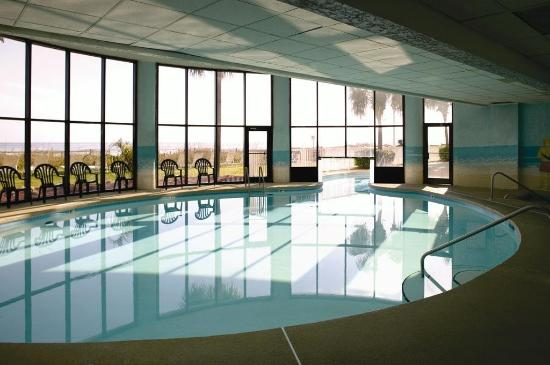 Indoor Swimming Pool Picture Of Wyndham Vacation Resorts Westwinds North Myrtle Beach