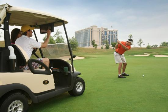 Belterra Casino Resort: Golf course