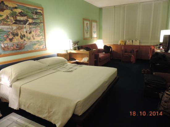 Hotel Galileo: Vista de la habitación