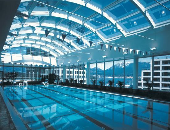 Auberge Vancouver Hotel : Pool View