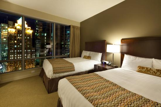 Auberge Vancouver Hotel : Deluxe Room Double