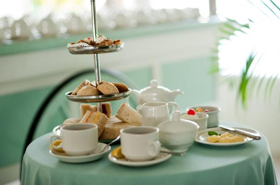 The Club, Barbados Resort and Spa: Afternoon Tea