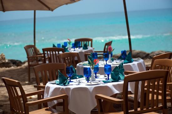 The Club, Barbados Resort and Spa: Waterside Dining