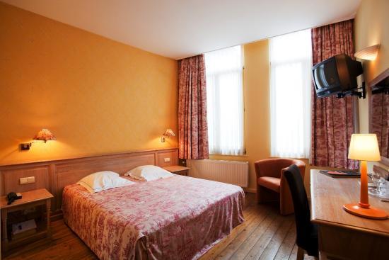 Hotel Gravensteen: Bedroom