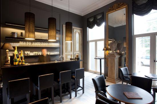 Hotel Gravensteen : Bar
