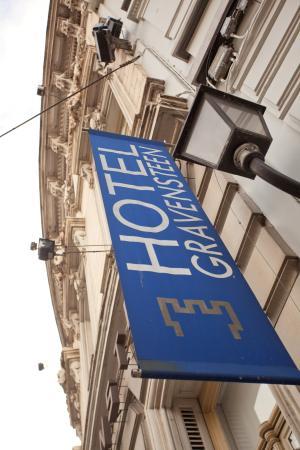 Hotel Gravensteen : Facade