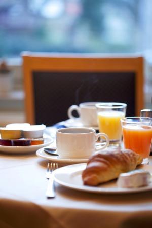 Hotel Gravensteen : Breakfast
