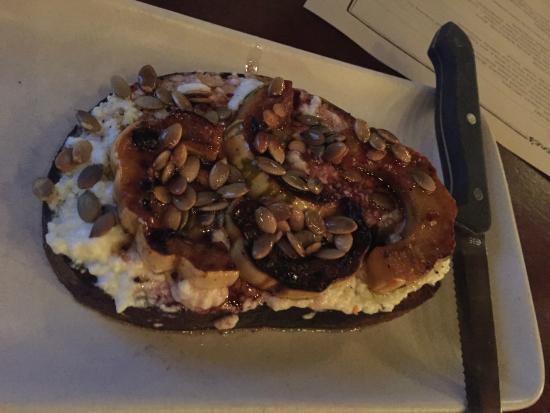 Ava Gene's: Ricotta-squash pumpkin seed Saba