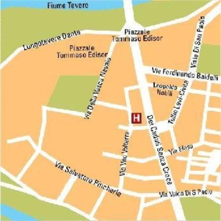Saint Paul Hotel : Map