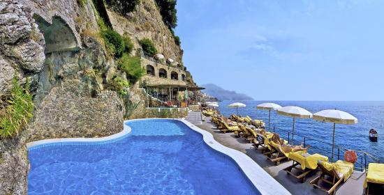 Santa Caterina Hotel: Beach Club and Pool