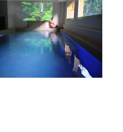 Grand Hotel & La Pace: Spa Swimming Pool