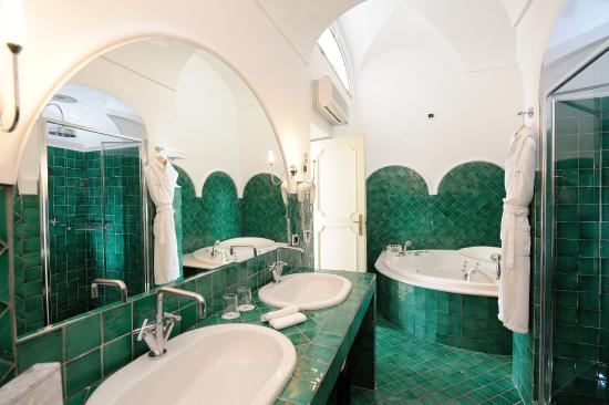 Santa Caterina Hotel: Junior Suite Bagno