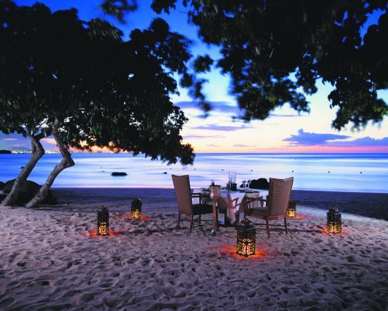 The Oberoi, Mauritius: Beach Dinner