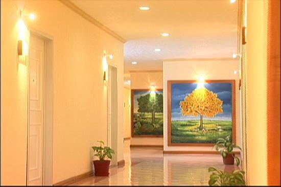 Hotel Luna Azul: Interior