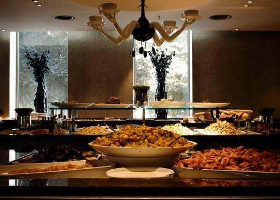 Clarion Hotel Ernst: Buffet