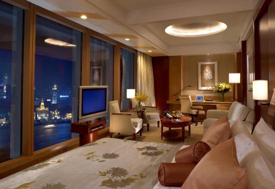 Pudong Shangri-La, East Shanghai: Guest room