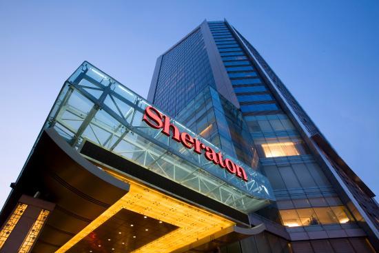 Sheraton Changsha Hotel: Hotel Exterior Night