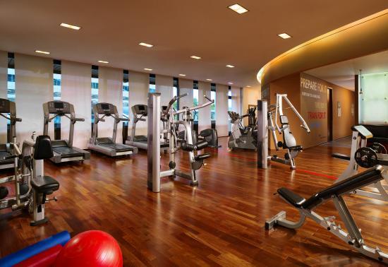 Sheraton Frankfurt Airport Hotel & Conference Center: Fitness Center