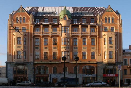 Dostoyevskiy Hotel: Exterior view