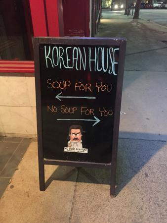 Hilarious Welcome Sign and famous Seinfeld joke.