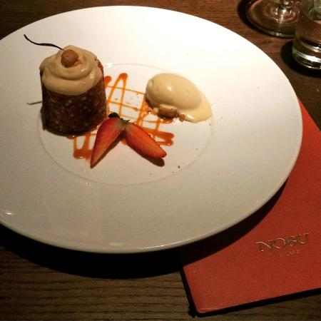 Heavenly Dessert - Picture of Nobu Milano, Milan - TripAdvisor