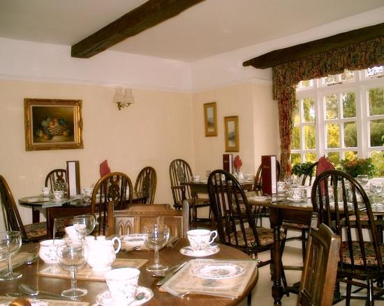 Kellington, UK: Dining