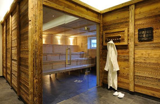 Krumers Post Hotel & Spa: Sauna