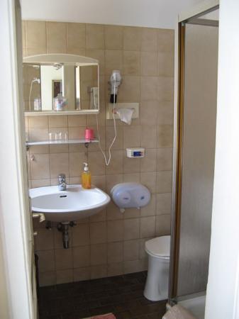 Hotel Rustler: Bathroom